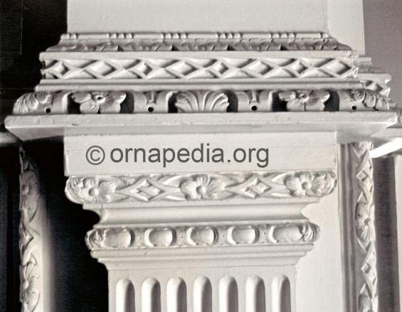Rococo moulding