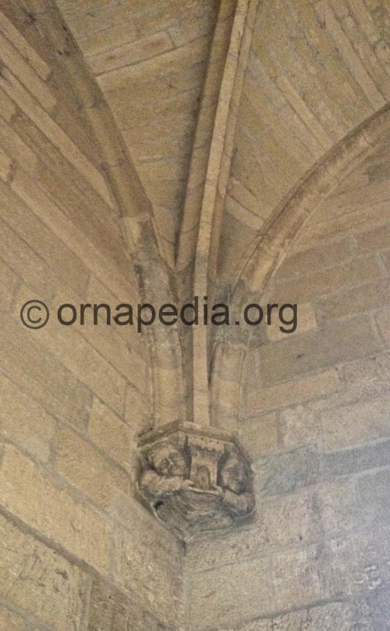 Mediaeval carved corbel