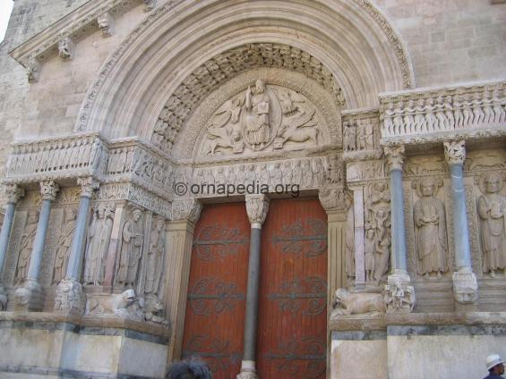 Romanesque door