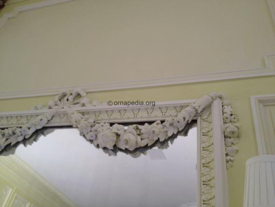 Cornice and swags