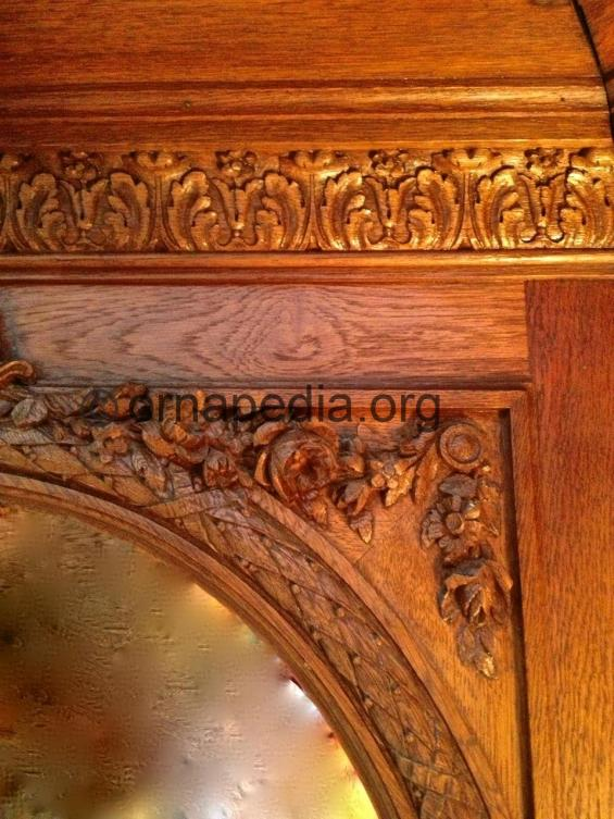 Oak woodcarving