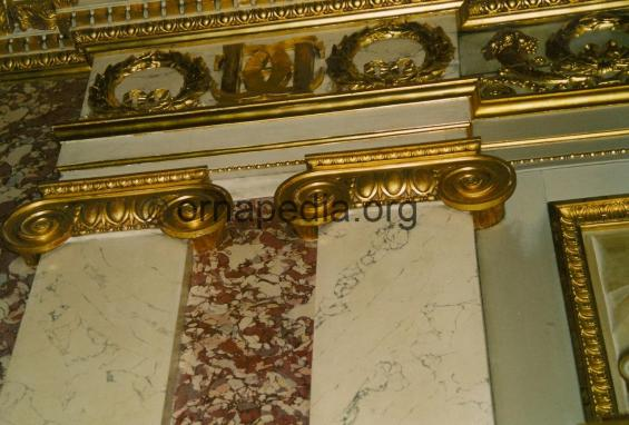 Napoleonic carved capitals