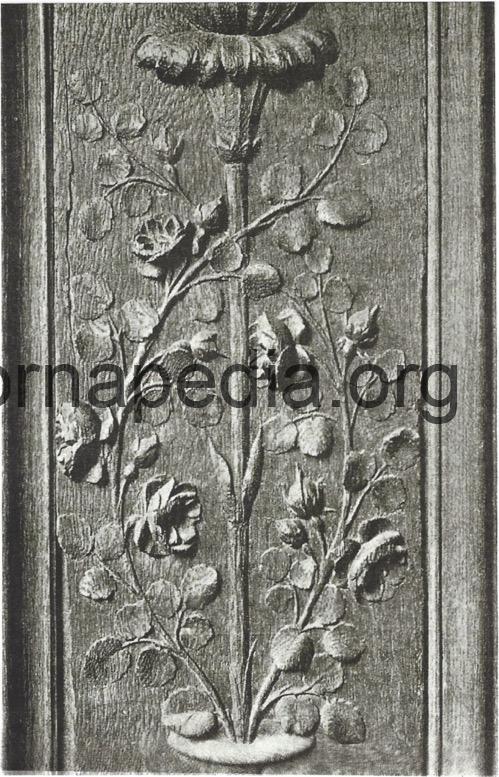 Louis 16th rose panel